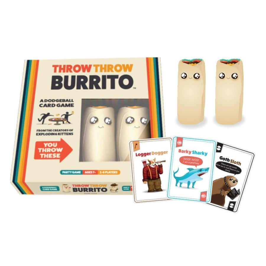 Card Game New Throw Throw Burrito