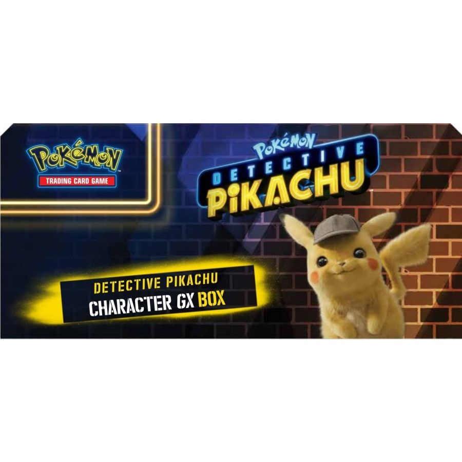 Pokemon Tcg Detective Pikachu Character Gx Box
