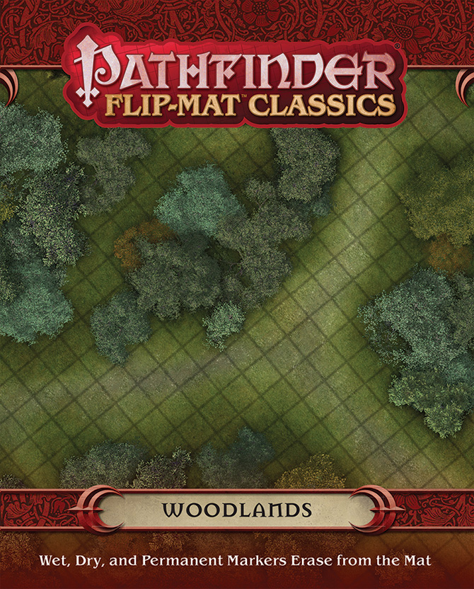 PZO31006 Paizo Publishing Pathfinder RPG Flip-Mat Classics Swamp