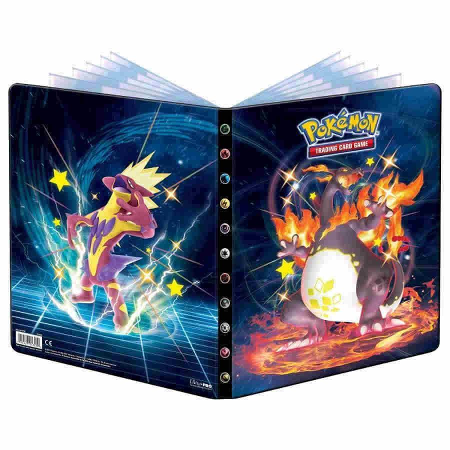 Pokémon 4-Pocket cartera Sword And Shield 2 de ultra pro #15226